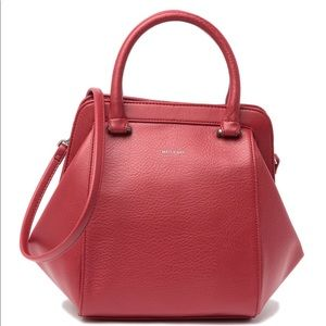 Matt & Nat Red Sheenan Doctor Bag GUC